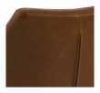 Amada Spisebordsstol - Cognac PU læder