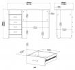 Function Skrivebord - Lys træ