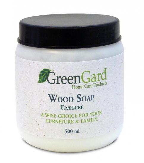 GreenGard Træsæbe natur 500 ml - Træsæbe