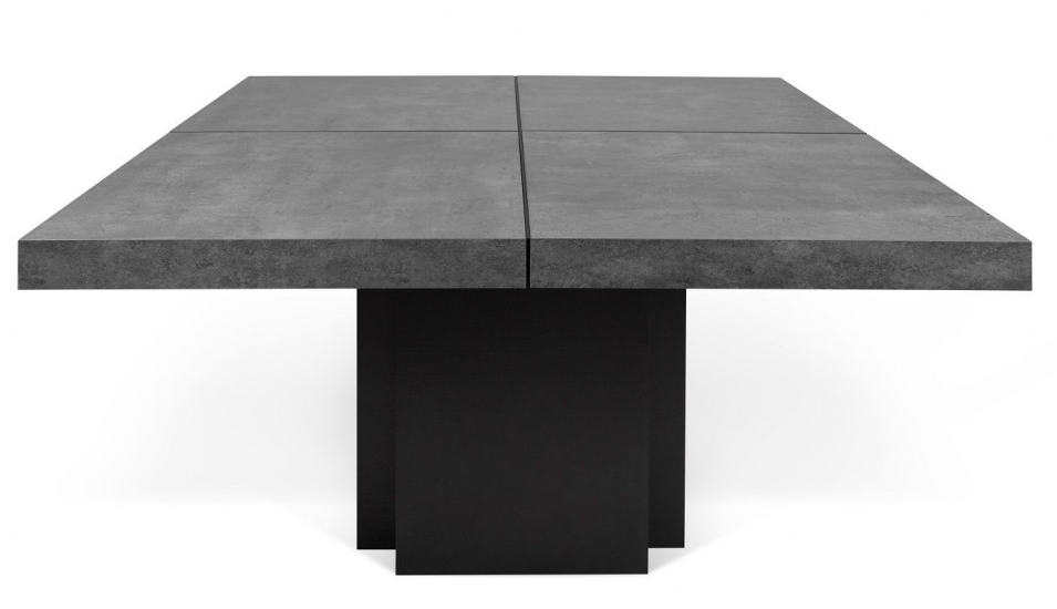 Temahome Dusk Spisebord - Grå 150x150