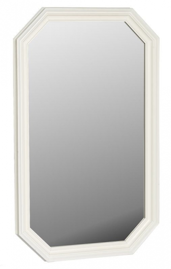 Sienna Spejl - Spejl med hvid ramme