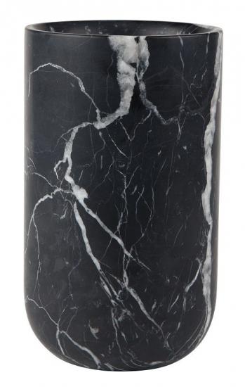Zuiver Fajen Vase - Sort marmor