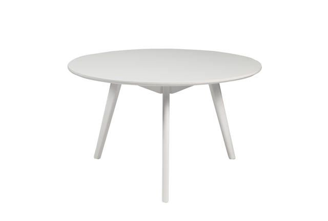 Yumi Sofabord - Hvid - Ø90 - Rund hvidt sofabord