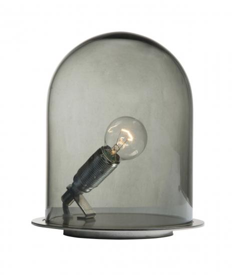 Ebb&Flow - Glasdome til Glow in a Dome, smokey grå, Ø15,5