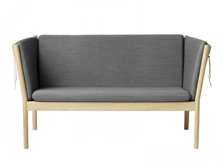 FDB Møbler - J148 2-pers. Sofa - Antracit