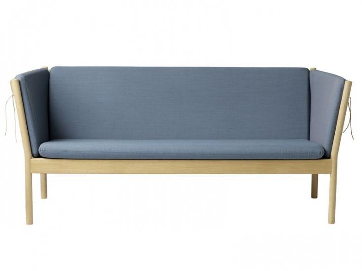 FDB Møbler - J149 3-pers. Sofa - Støvet blå