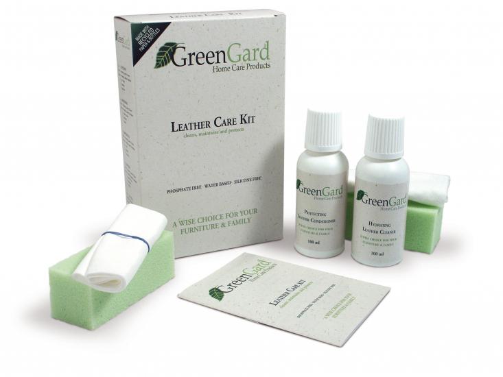 GreenGard Lædervedligeholdelses Sæt - Medium - Plejesæt til læder medium