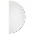 AYTM, Unity Spejl i 1/2 cirkel, Gylden