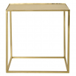 Bloomingville Cube Sofabord - Guld