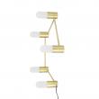 Bloomingville Nordic Bordlampe - Gylden
