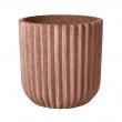 Fiber Flowerpot - Terracotta Rød