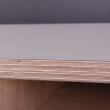 By Tika Norberg Spisebord 120x80 - Hvid laminat