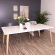 Sandefjord Spisebord - Hvid