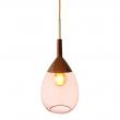 Ebb&Flow - Lute pendel, coral / copper
