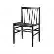 FDB Møbler - J80 Spisebordsstol - Sort