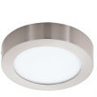 Fueva loftlampe LED - Rund og stilren loftlampe, 17 cm diameter