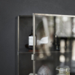 House Doctor Glasskab i rustfri stål H40