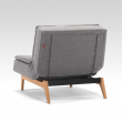 Innovation Living - Dublexo Eik Loungestol - Charcoal