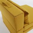 Kave Home Arty Puf/Gæsteseng Mustard
