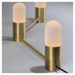 Kave Home Badra Bord- eller Væglampe Gylden