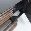 LaForma Mahon Skænk 162x73 - Mat graphite