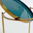 LaForma Naoko Sidebord - Grøn/Messing