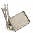 LaForma Stahl Bakkebord - Acacia/fibercement