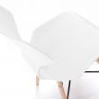 LaForma Withey Spisebordsstol - Pure White