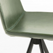 LaForma Zast Barstol, Grøn kunstlæder m. sorte ben