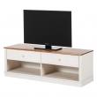 Anja TV-bord hvidpigmenteret/honning fyrretræ