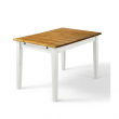 Daisy Spisebord - hvidpigmenteret fyrretræ 120x80
