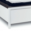 Mavis - Pisa Sengeramme 200x180 - Hvid