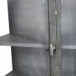 Muubs - Glasskab 17 m/2 låger - Jern