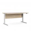 Prima Hæve/sænkebord - Lys træ