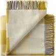 Plain Beat Plaid, Uld, All Yellow, 130x190 - Silkeborg Uldspinderi
