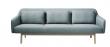 Top FDB Møbler - Gesja 3-pers. Sofa - Petroleumblå - Gratis fragt NE05