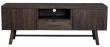 Albany Tv-bord - børstet eg - Mørkbejdset TV-bord