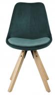 Fryd Spisebordsstol m/centerben - Flaskegrøn