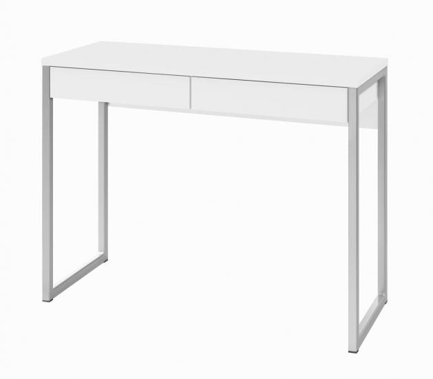 Function Plus Skrivebord - Skrivebord i hvid højglans