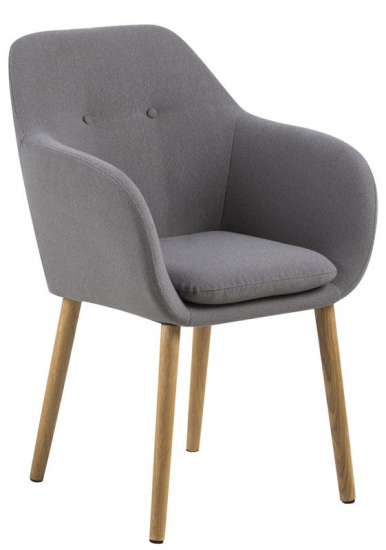 Selina Spisebordsstol - Lysegrå