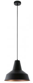 Somerton Pendel - Sort - Rund sort pendel - Ø35 cm