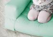 Mini Hippo Børnestol, Peppermint