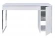Temahome Prado Skrivebord - Hvid m/krom ben