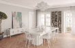 Temahome - Dusk Spisebord - Hvid højglans 150x150