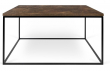 Temahome - Gleam Sofabord - Brun - 75 cm - Sofabord med rust-look