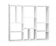 Wall XL Vægreol m/11 rum - Hvid