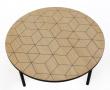 Woodman - Arty Triangle Sofabord Ø70xH40 - Egefiner