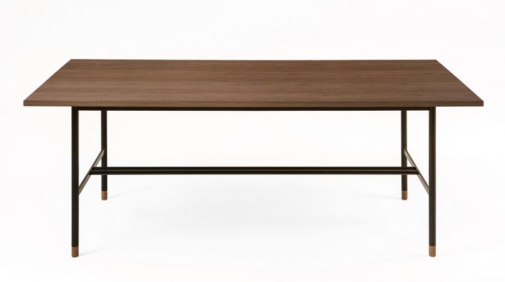 Woodman - Jugend Spisebord 200x95 - Brun