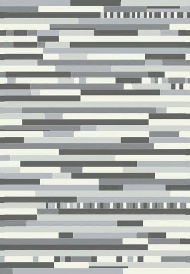 Valencia Multi - Grå - Tæppe i grå - 160x230 cm