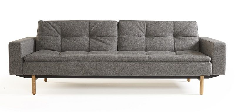 Innovation Living - Dublexo Sovesofa m/armlæn, Grå